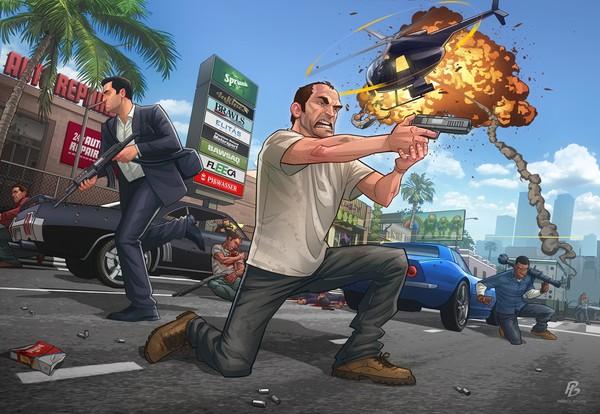 Game thủ Việt nói gì về GTA V PC? 1