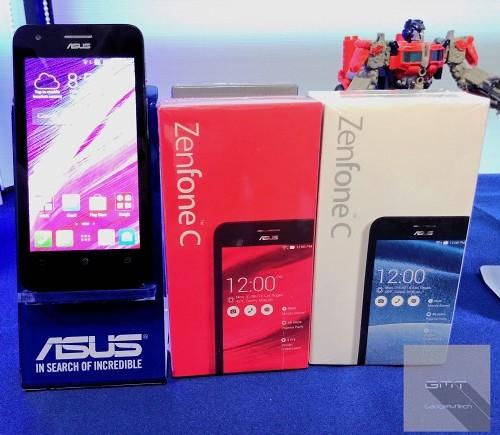 Asus, ZenFone C, smartphone giá rẻ