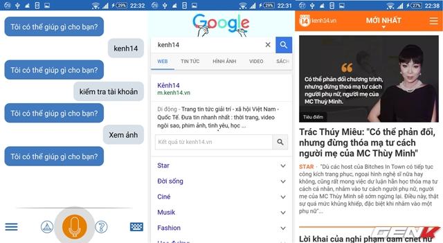 Truy cập trang web Kenh14.vn