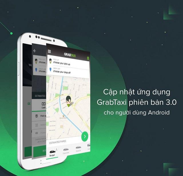 Người dùng ứng dụng GrabTaxi trên Android hiện đã có thể tải về ứng dụng.
