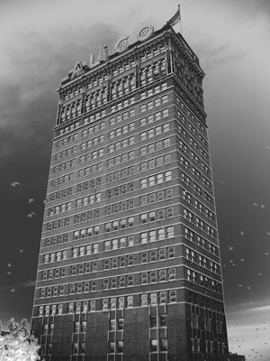 Tòa nhà ALICO tại Texas (Mỹ). Ảnh chụp bởi Peter Leininger.