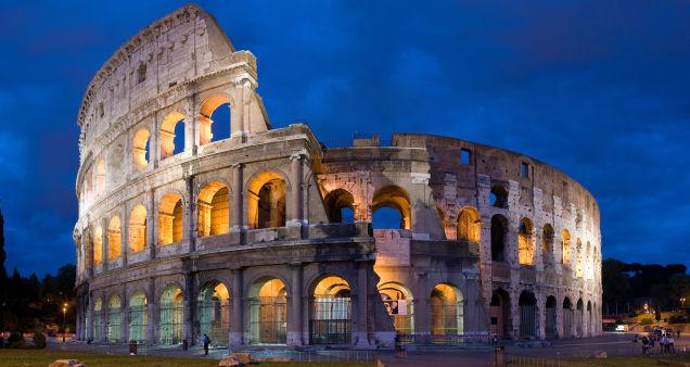 Đấu trường Colosseum - Rome, Italy.
