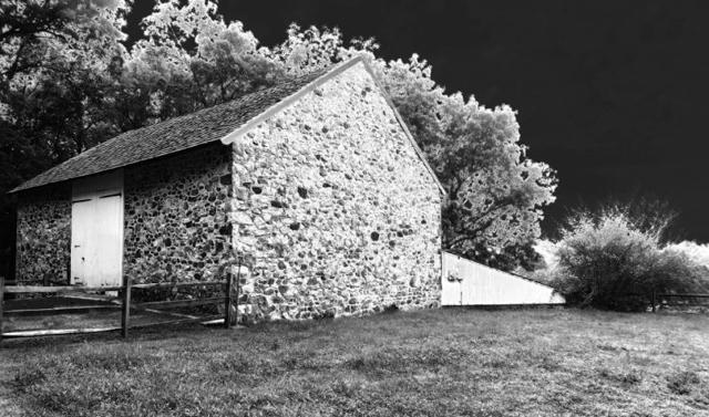 Kho thóc ở miền quê Delaware. Ảnh chụp bởi S Wootten bằng máy Canon G7X.
