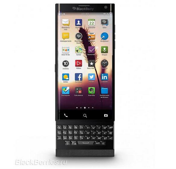 BlackBerry Venice sử dụng SoC Snapdragon 808, chạy Android, ra mắt tháng 11