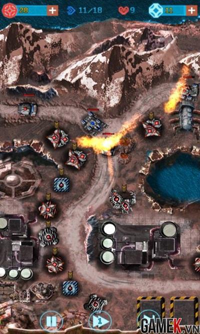 Galaxy Defense 2 chính thức ra mắt game thủ Việt