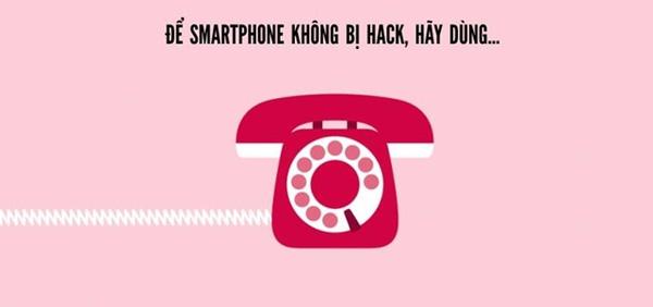 Cách tốt nhất là không dùng smartphone nữa thôi.