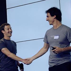 Codorniou và nhà sáng lập kiêm CEO Facebook, Mark Zuckerberg, chụp năm 2012