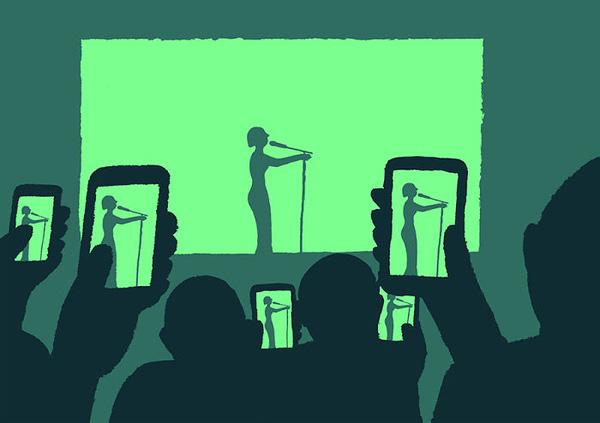 Cách đi xem ca nhạc thời đại mới....