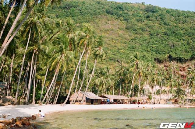 Đảo Nam Du, Kiên Giang. Chụp bằng Canon AE-1.