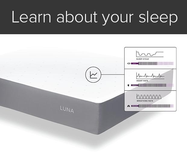 Luna có thể thống kê nhịp tim, nhịp thở và cả chu kỳ giấc ngủ của người dùng.