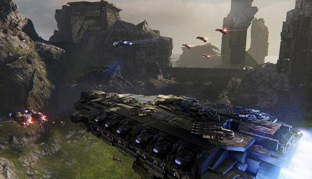 Cận cảnh Dreadnought - Game phi thuyền không gian ấn tượng