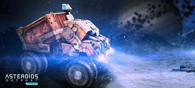 Asteroids: Outpost - Game khám phá vũ trụ ấn tượng