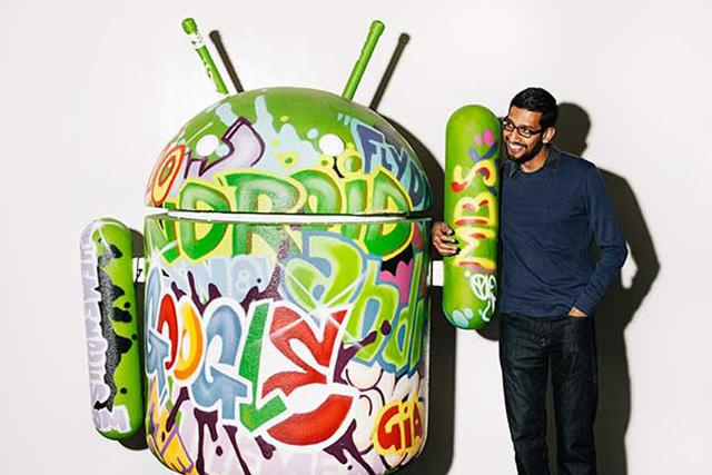 Sundar Pichai là người rất có quyền lực ở Google