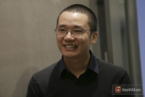 Cha đẻ Flappy Bird, anh Nguyễn Hà Đông cũng xuất hiện trong buổi họp báo này