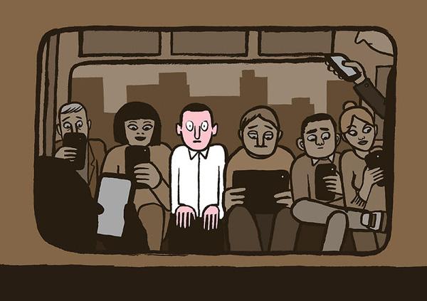 Không có smartphone thì dĩ nhiên là lạc lõng rồi.