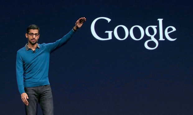 CEO Sundar Pichai của Google.