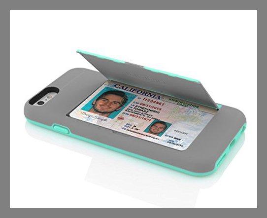Chiếc ốp kiêm ví đựng thẻ này giúp tận dụng tối đa không gian trong ốp điện thoại.