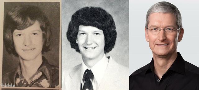 Tim Cook, Giám đốc điều hành của Apple đã lớn lên tại Mobile, Alamaba. Đây cũng là nơi ông nhập học trường Trung học Robertsdale. Sau khi học xong tại Auburn và Duke, ông làm việc 13 năm tại IBM trước khi đầu quân cho Apple vào năm 1998