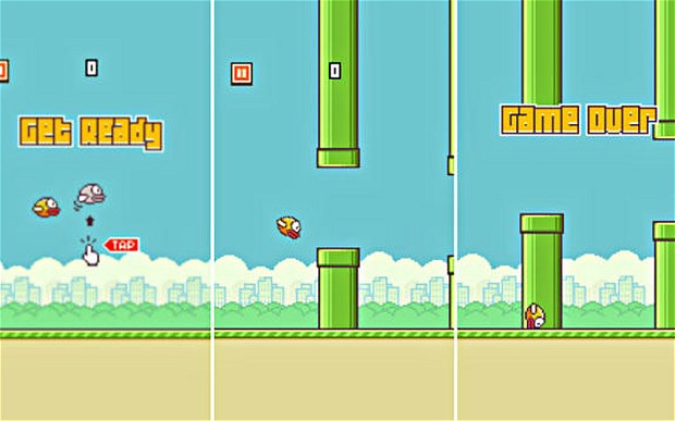 Tác giả game di động Flappy Bird kiếm được 50.000 USD mỗi ngày. Nguồn ảnh: cnet.com