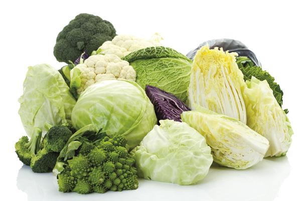 Sulforaphane có chứa trong các loại rau xanh sẫm màu họ cải.