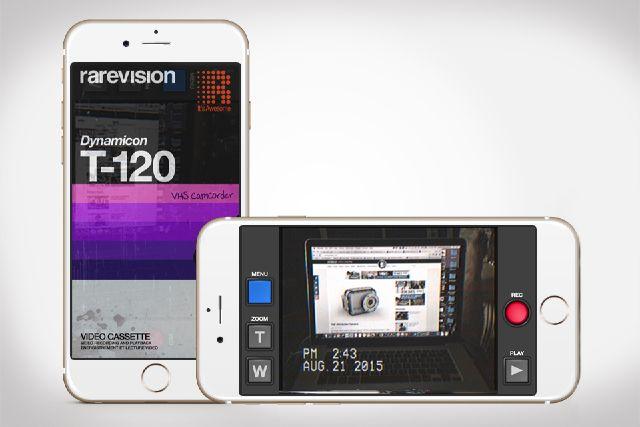 VHS Camcorder giúp tạo ra những đoạn video dành cho những ai thích hoài cổ