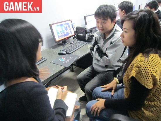 ShenLong trong buổi phỏng vấn với phóng viên GameK 4 năm trước.