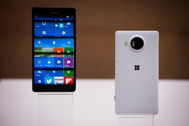 Bộ đôi smartphone chạy Windows 10: Lumia 950/950 XL