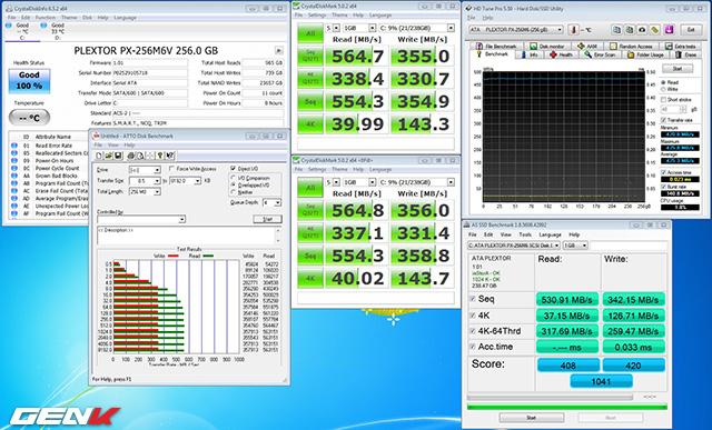 Đổ dữ liệu chiếm 50% dung lượng ổ, vẫn chưa thấy chạy chậm đi chút nào!