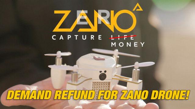 From ZANO TO ZERO !