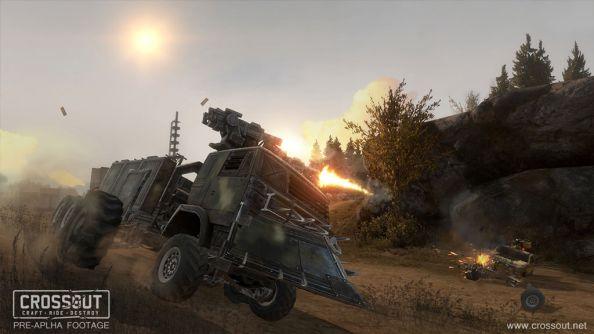 Crossout - Game đua xe bắn súng hấp dẫn mới toanh