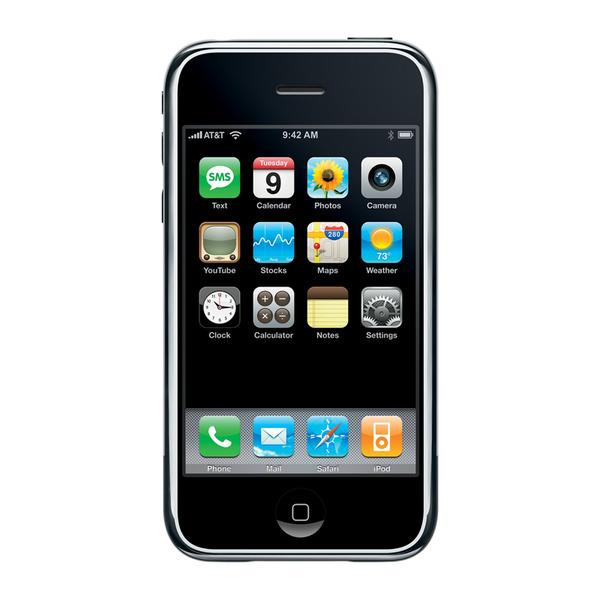 Chiếc iPhone thế hệ đầu tiên đã thực sự tạo nên môt cuộc cách mạng.