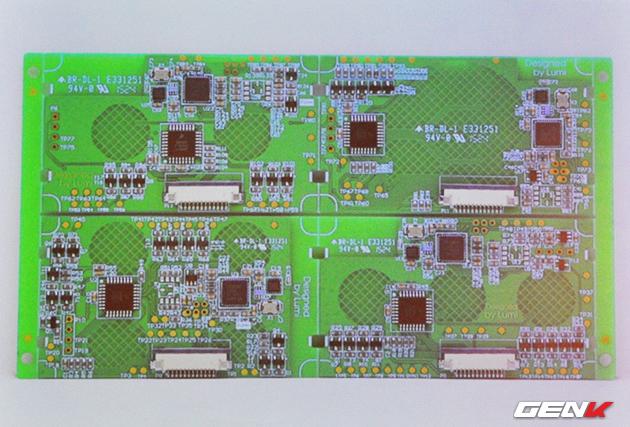 Board mạch được thiết kế bởi các kỹ sư của Lumi Việt Nam.