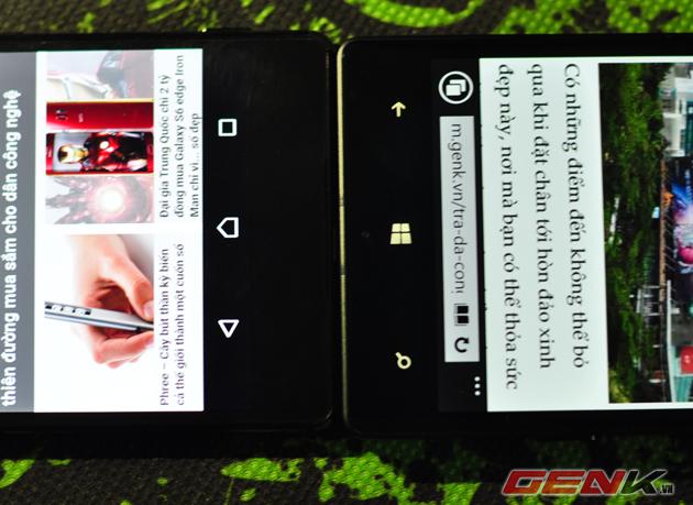 Cả 1 khoảng trống rộng bị lãng phí ở phía đáy của Xperia Z4.
