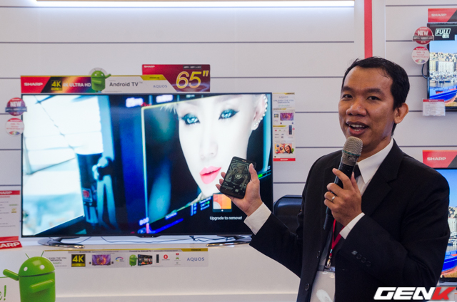 Chia sẻ nội dung giữa điện thoại với TV.