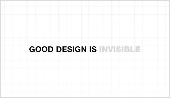 Thiết kế chỉ trở nên rõ ràng khi nhìn lại.