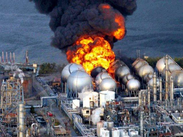 Vụ nổ kinh hoàng tại Fukushima năm 2011.