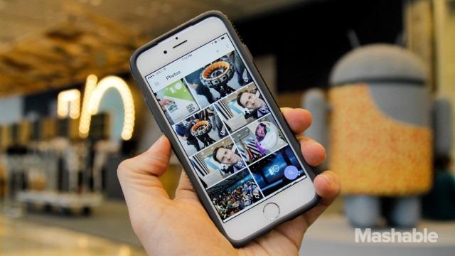 Ứng dụng Photo của Google đang nhận được những phản hồi tích cực.