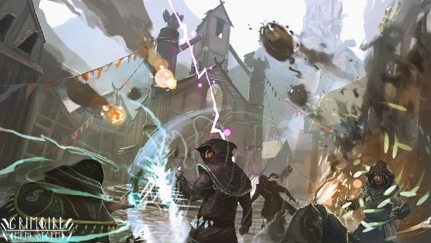 Grimoire - Game MOBA kết hợp FPS cực độc mở cửa thử nghiệm