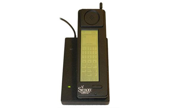Chiếc smartphone đầu tiên IBM Simon
