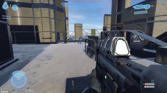 Hình ảnh của game xem chừng nhỉnh hơn Halo 2 nhưng chưa sánh bằng Halo 3 trên Xbox 360.