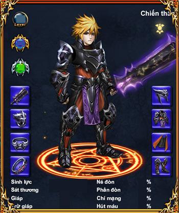 Vào game, người chơi sẽ nhập vai vào một chiến binh mang phong cách Châu Âu