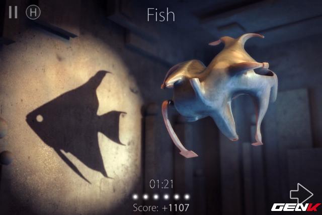 Hãy nhìn khối hình kia, liệu bạn có đoán ra được là mình sẽ phải tạo hình 1 con cá?