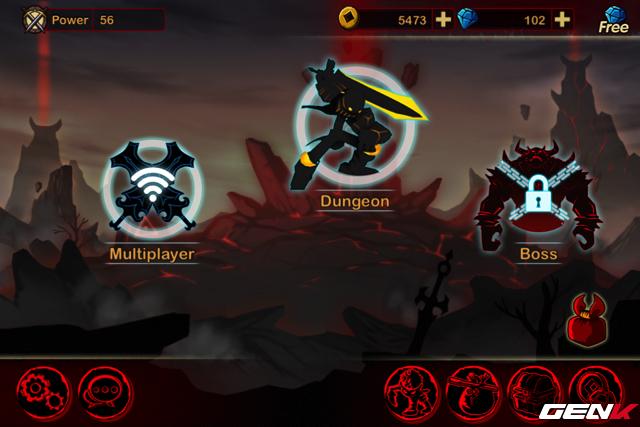 3 chế độ chơi trong game