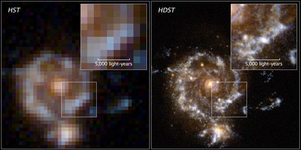 The HDST will far exceed the capabilities of Hubble