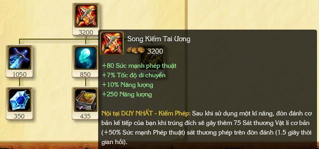 Song Kiếm Tai Ương sau Phù Phép Vọng Cổ thì đừng hỏi!!!