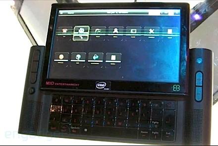 MID đời đầu tiên của Intel
