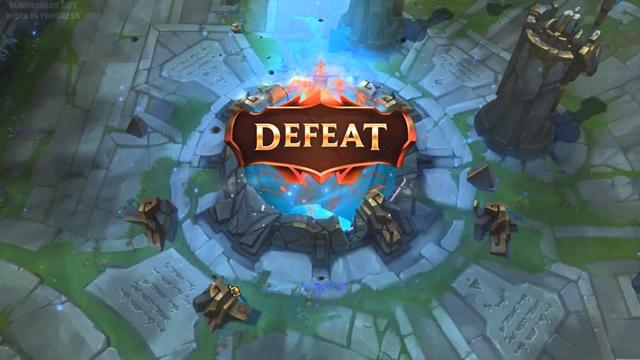 Game thủ Liên Minh Huyền Thoại làm gì sau khi thua trận?