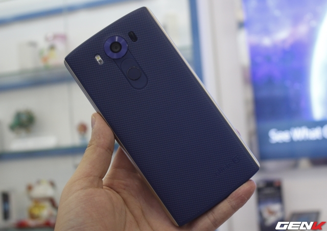 Nắp lưng siêu bền của LG V10