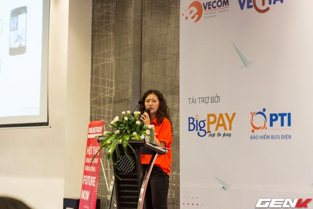Bà Vũ Hoàng Yến, Giám đốc Marketing Zalora Việt Nam chia sẻ những khó khăn trong kinh doanh trực tuyến và giải pháp.