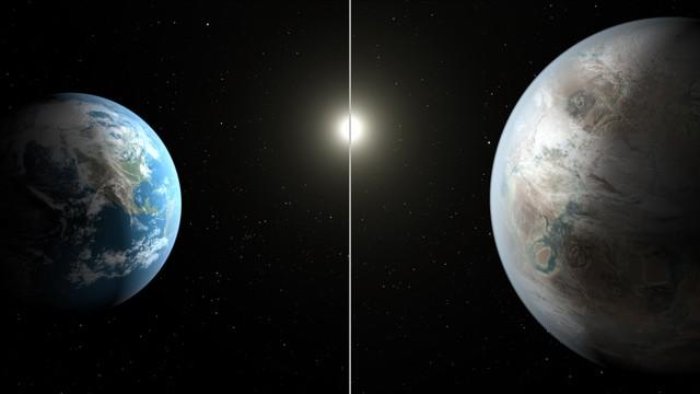 Trái Đất và người họ hàng xa Kepler-452 của mình